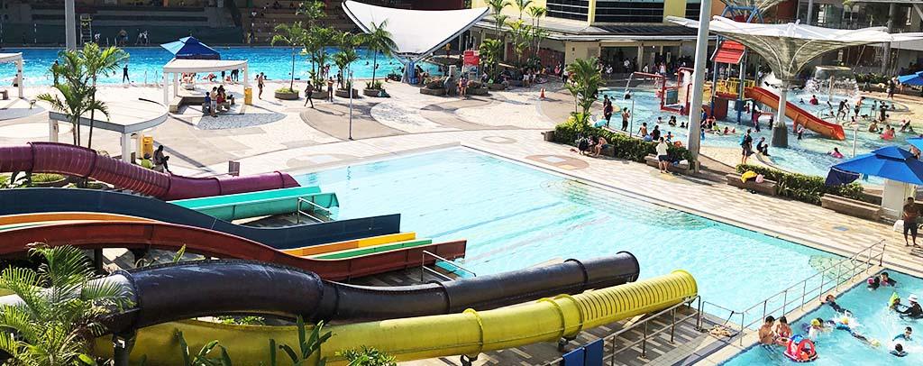 sengkang swimming complex wave pool